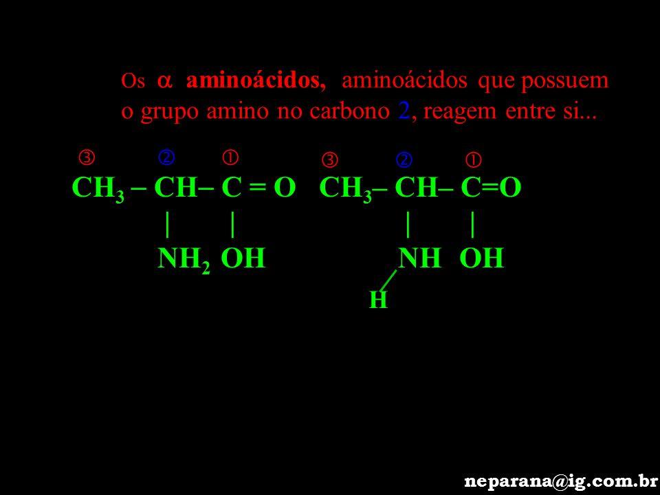 CH 2 – CH 2 CH COOH NH 2 * BÁSICO O número de grupos ácido é menor que o de grupos amino.