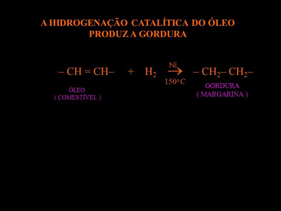 O AC. GRAXO DE NOME AC. OLÉICO É INSATURADO, VEJA: COOH 18 C 17 H 33 – COOH