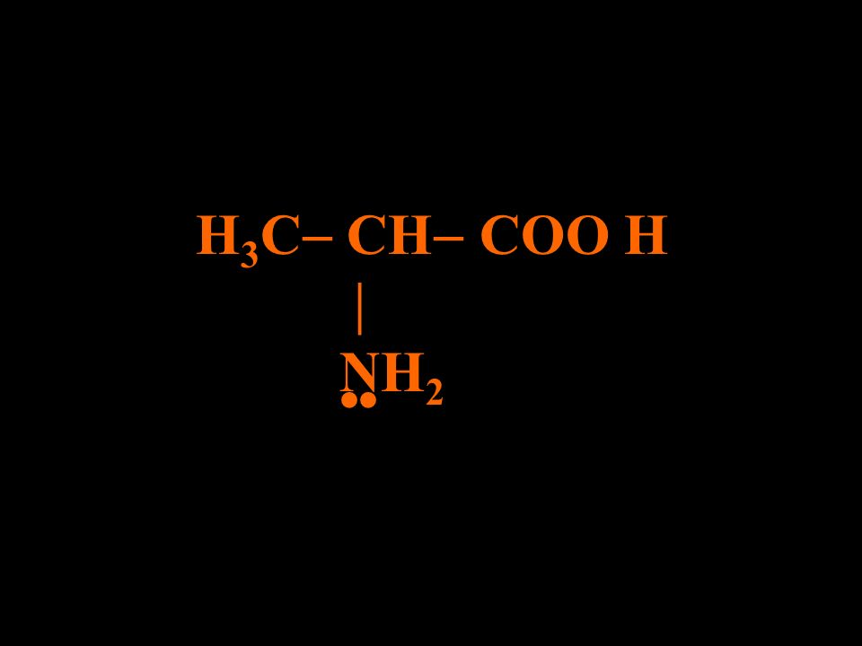 H 3 C CH COOH NH 2 PAR LIVRE
