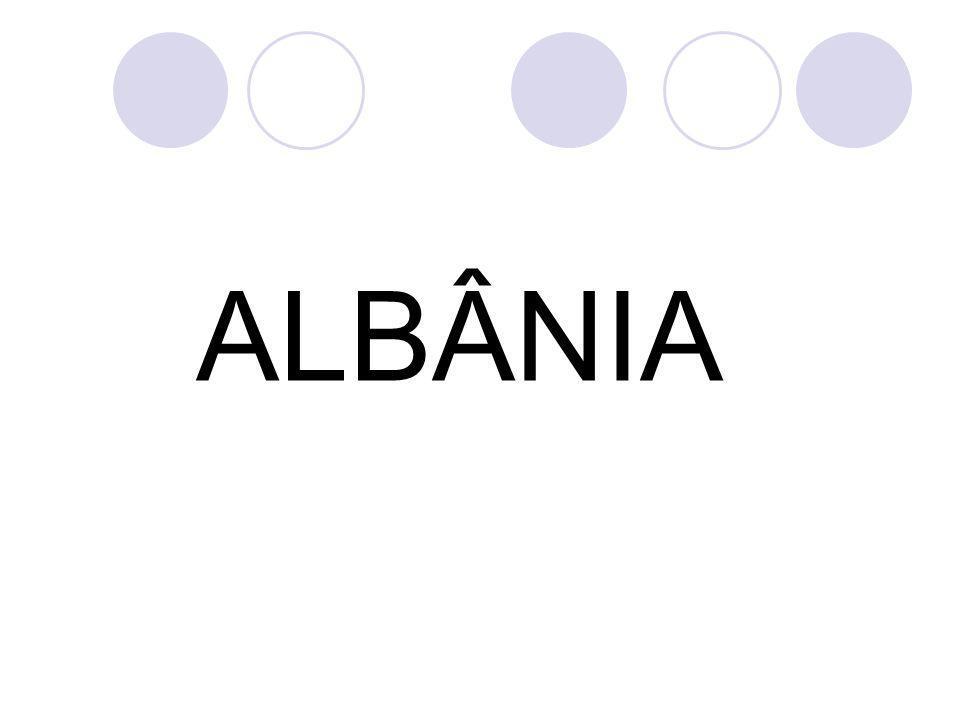 REFERÊNCIAS http://pt.wikipedia.org/wiki/Albânia http://pt.wikipedia.org/wiki/História_da_Alb ânia http://pt.wikipedia.org/wiki/História_da_Alb ânia http://www.portalbrasil.net/europa_albania.