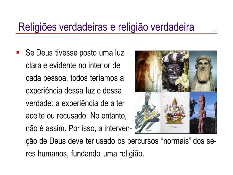 5/10 Duas formas possíveis de intervir na história Se Deus quer intervir na história, há duas possibilidades.