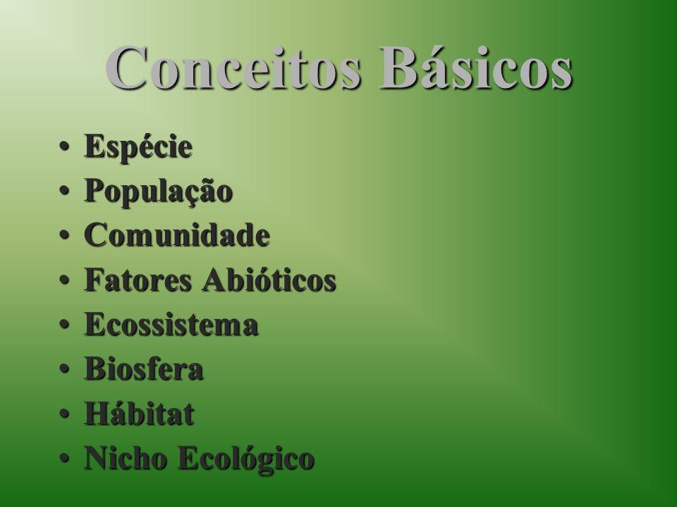 3.O conjunto de todos os ecossistemas forma um (a): a)Hábitat b)Comunidade c)Biosfera d)Nicho ecológico