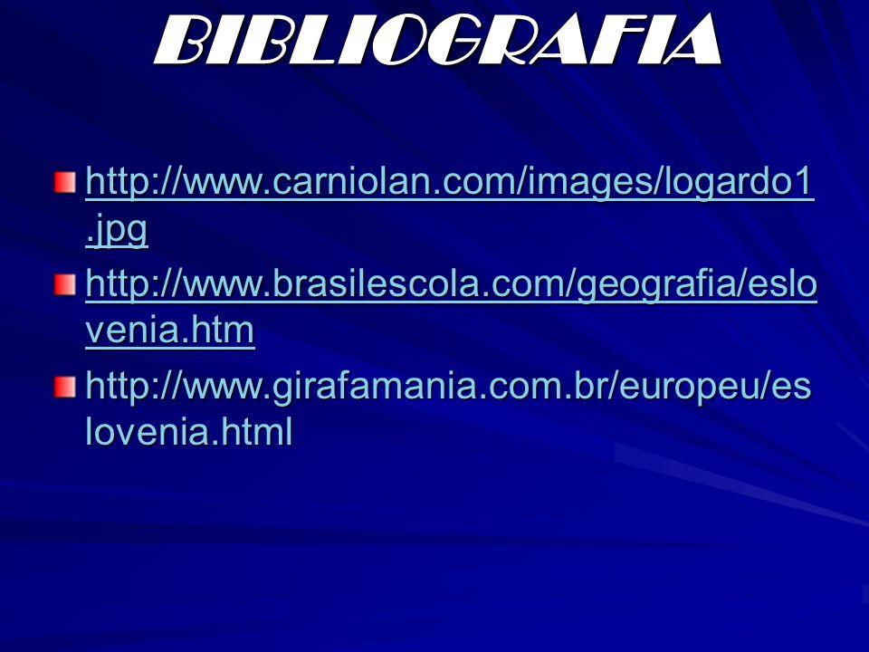 BIBLIOGRAFIA http://www.carniolan.com/images/logardo1.jpg http://www.carniolan.com/images/logardo1.jpg http://www.brasilescola.com/geografia/eslo veni