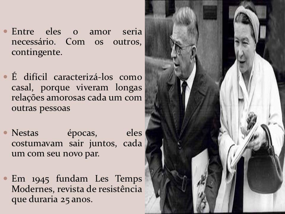 SARTRE E SIMONE NO BRASIL,1960 Sartre e Simone percorreram o Brasil de norte a sul, entre agosto e novembro de 1960.
