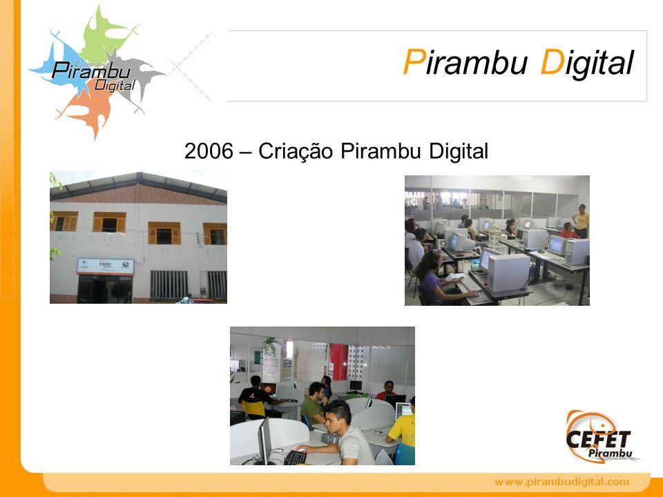 P irambu D igital 2006 – Criação Pirambu Digital