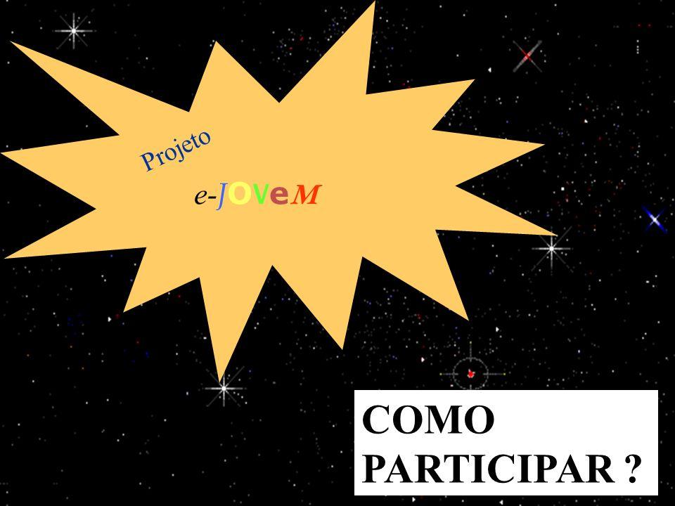 15/1/201423 e- J O V e M Projeto COMO PARTICIPAR ?