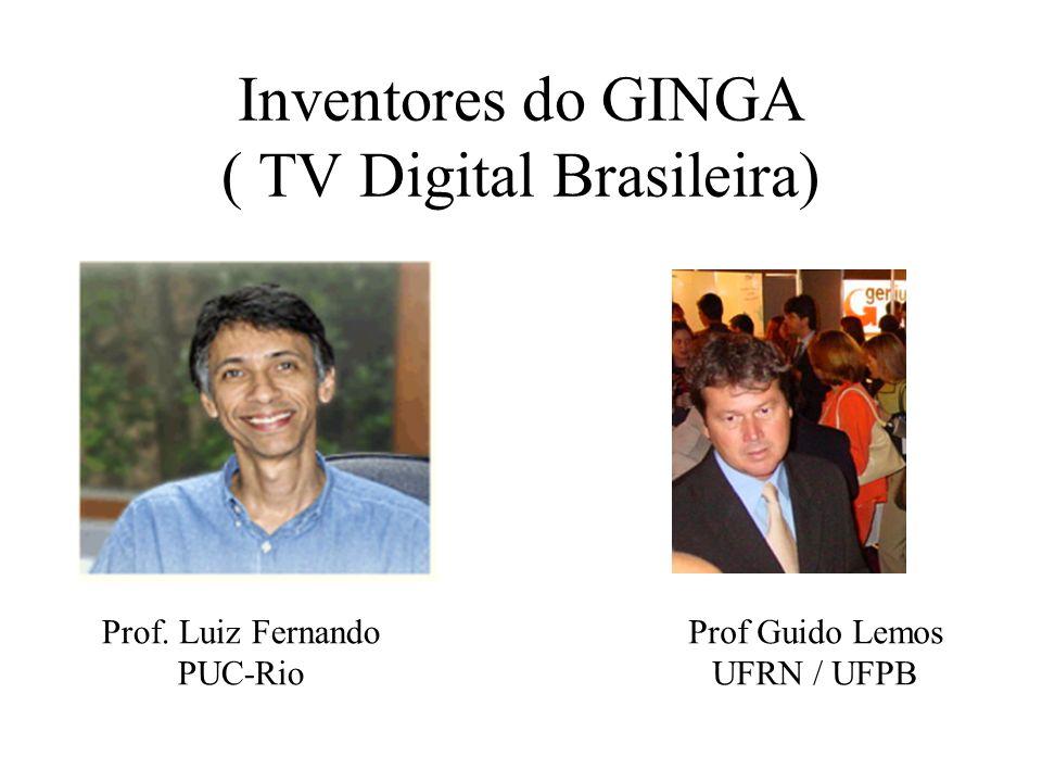GINGA, a interatividade na TV Digital Brasileira POLÍTICA NACIONAL de C&T&I