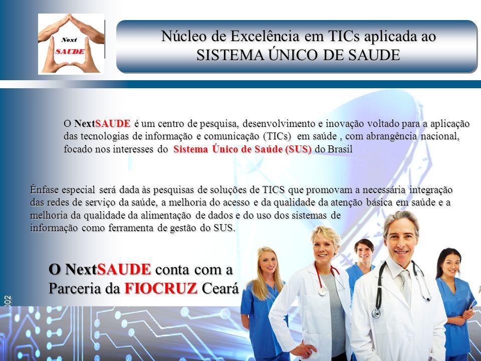 By LAR – 2002 O NextSAUDE é um centro de pesquisa, desenvolvimento e inovação voltado para a aplicação das tecnologias de informação e comunicação (TI