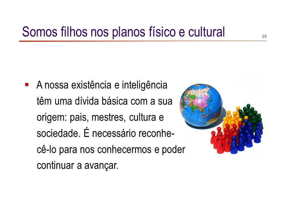 01. A Origem do Universo (8 slides) 02. Filhos da nossa cultura, continuamos a pensar (8 slides) 03. As expressões eu creio que e sou da opinião que t