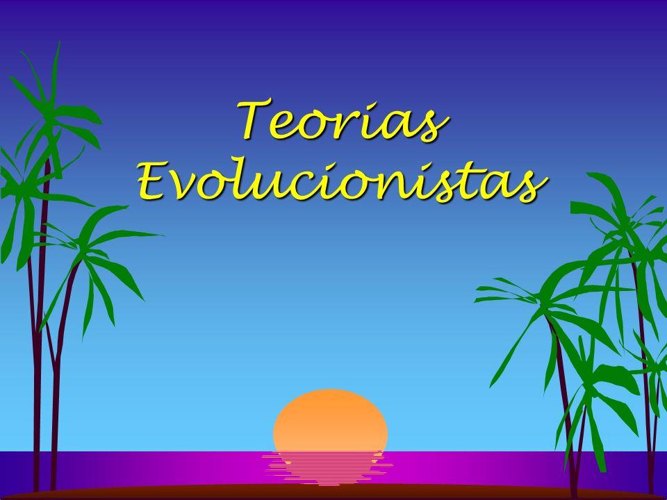 EVOLUÇÃO Evolucionismo - Segundo essa teoria, nós (e todos os seres vivos) teríam surgido das modificações genéticas que ocorrem com o passar das eras, determinando características novas à medida que as gerações se sucedem.