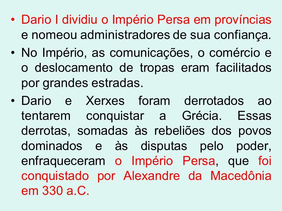 MedosPersas Unificação Ciro (549-529 aC) 1000 aC