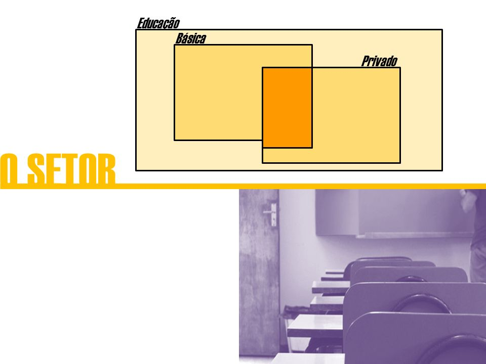 O SETOR Educação Privado Básica