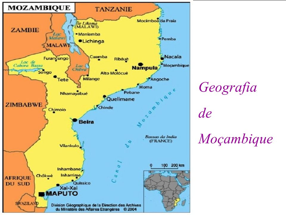 Geografia de Moçambique
