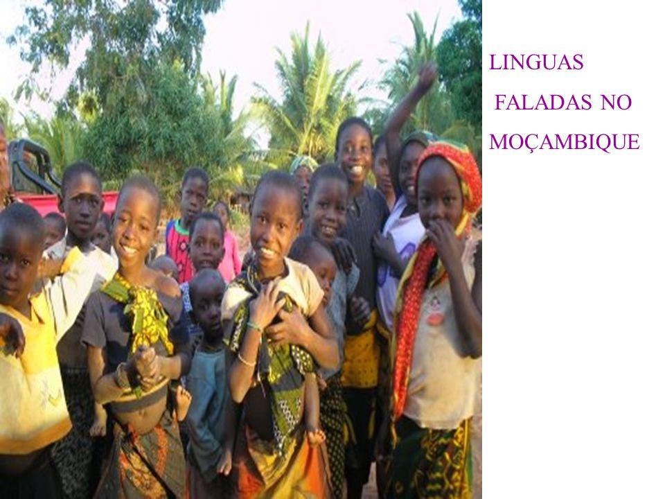 LINGUAS FALADAS NO MOÇAMBIQUE