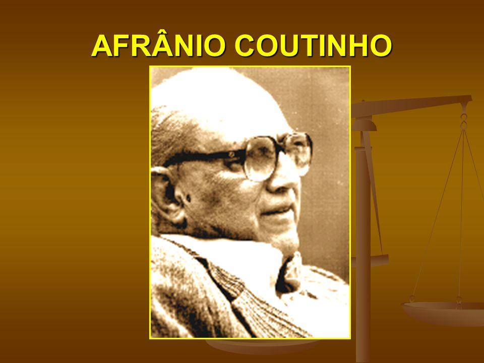 AFRÂNIO COUTINHO