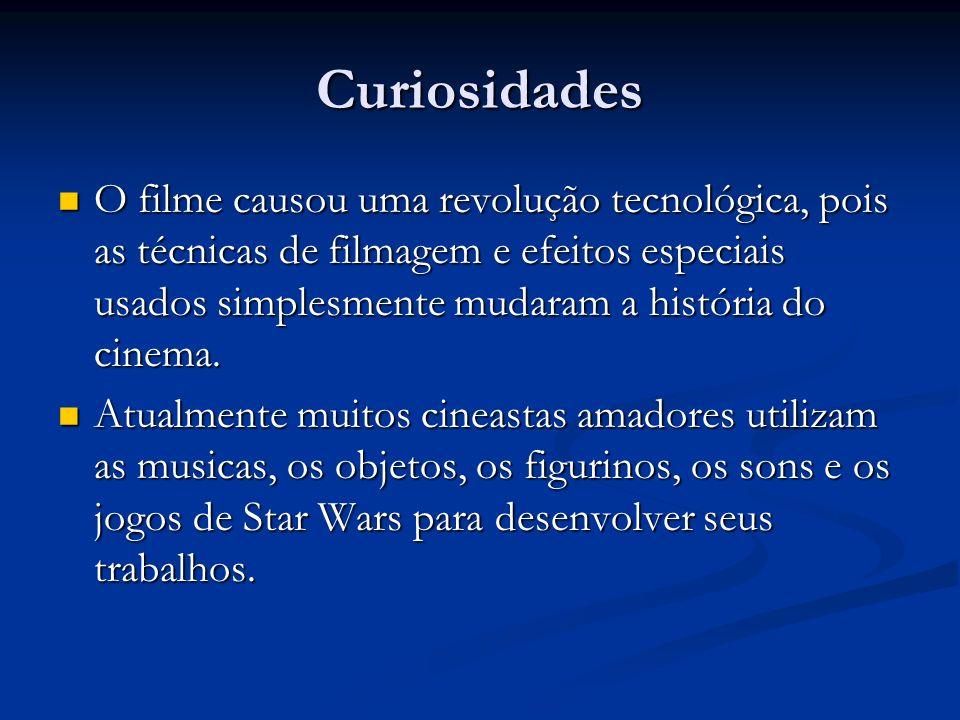 Curiosidades O filme causou uma revolução tecnológica, pois as técnicas de filmagem e efeitos especiais usados simplesmente mudaram a história do cine