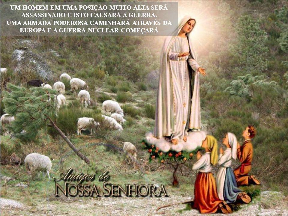 Chegou o tempo para todos de transcrever a mensagem de Nossa Senhora para seus familiares, seus amigos, para os amigos deles e para o mundo inteiro. D