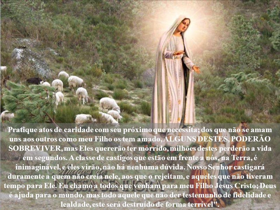 A Santa contou a Lúcia: