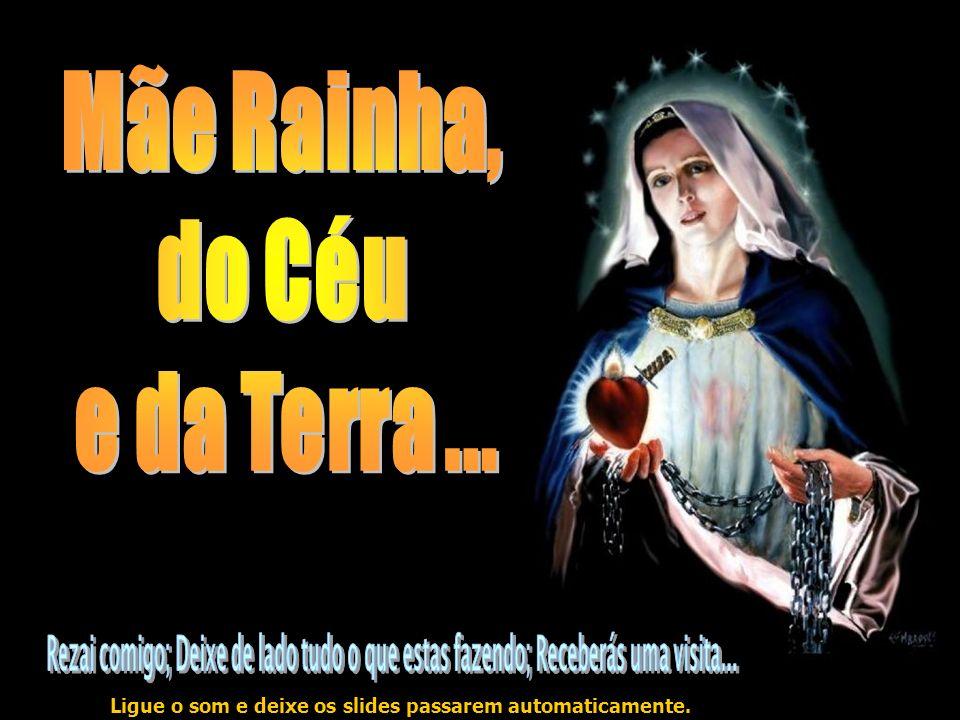 Ave Maria, cheia de graça, o Senhor é convosco.