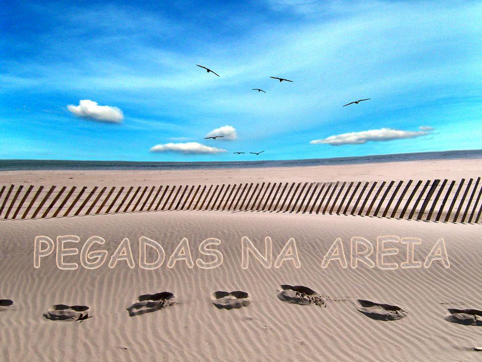 http://www.flickr.com/photos/igorsperotto/456800408/sizes/o/ Mas notei que durante as minhas maiores aflições, havia na areia do caminho da minha vida, apenas um par de pegadas.