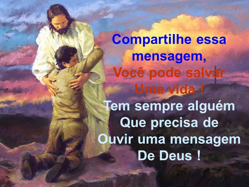 Reflexão: Porque Deus Amou o mundo de tal maneira que entregou seu único filho, para que o mundo fosse salvo por Ele...