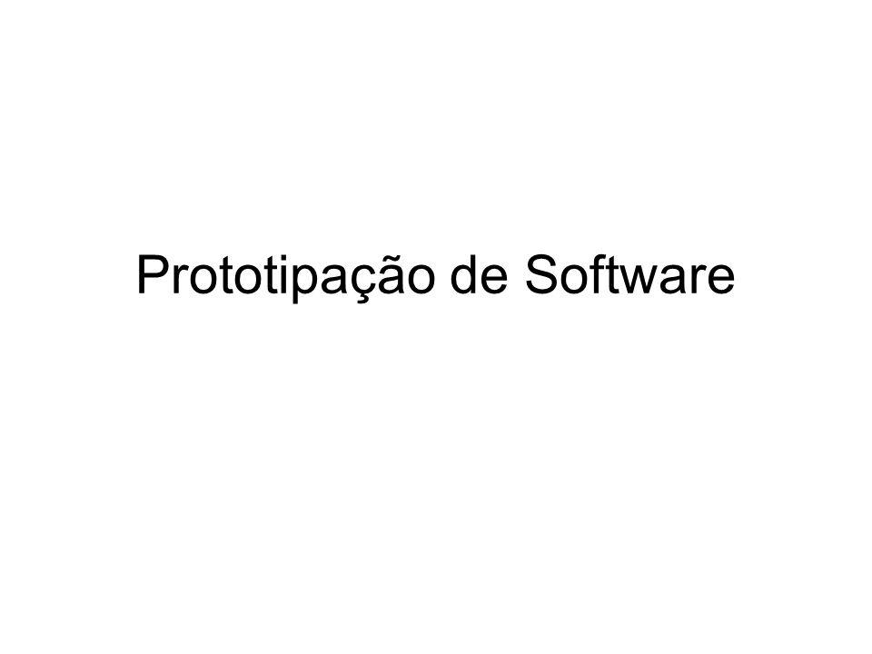 Prototipação de Software Abordagens para Desenvolvimento de Protótipos 1.
