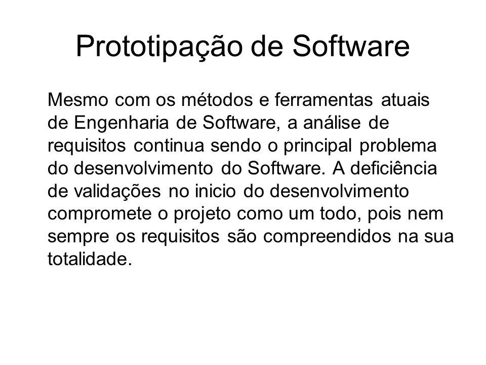 Mesmo com os métodos e ferramentas atuais de Engenharia de Software, a análise de requisitos continua sendo o principal problema do desenvolvimento do
