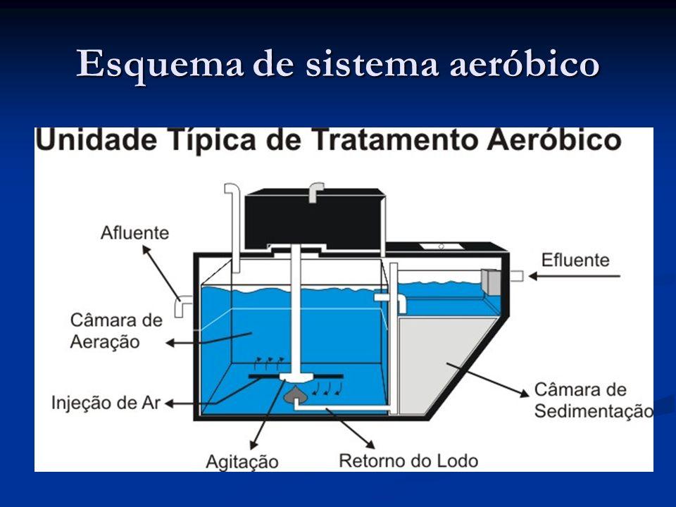Esquema de sistema aeróbico