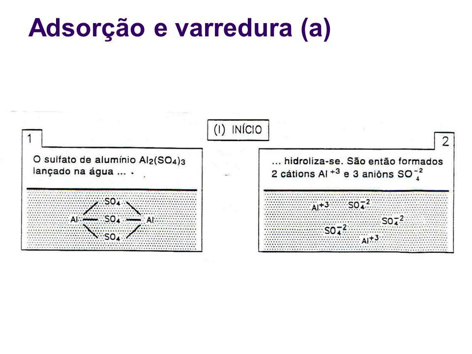 Adsorção e varredura (a)