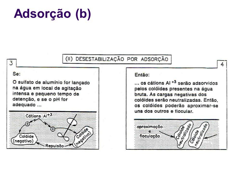 Adsorção (b)