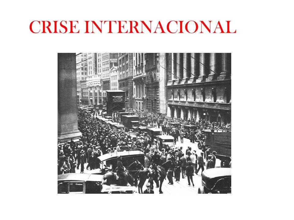 CRISE INTERNACIONAL