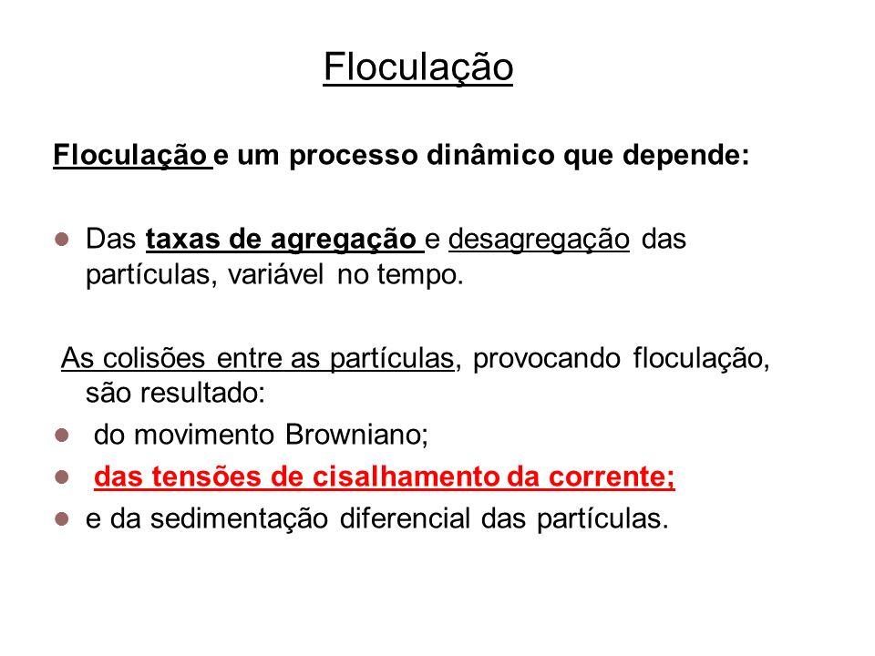 5 Floculação Floculadores Hidráulicos Floculador hidráulico de fluxo vertical (fonte:L\MANUAIS ATUAIS\MANUAL – MT-32/OPERAÇÃO DE ESTAÇÃO DE TRAT.