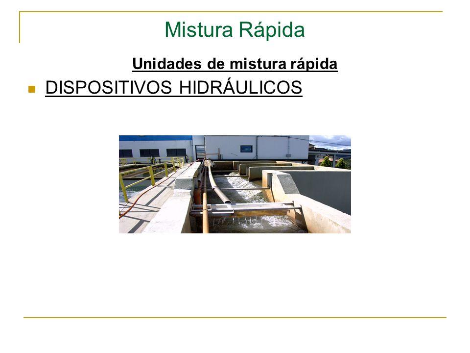 Mistura Rápida Unidades de mistura rápida DISPOSITIVOS HIDRÁULICOS