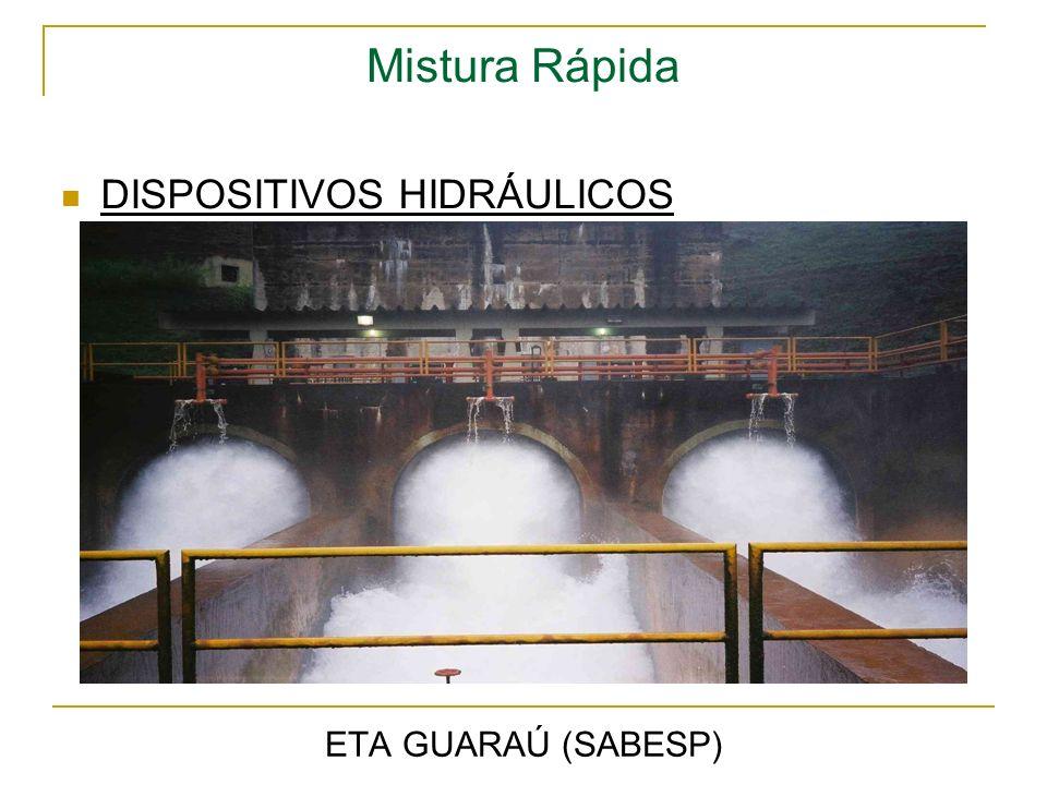 Mistura Rápida ETA GUARAÚ (SABESP) DISPOSITIVOS HIDRÁULICOS
