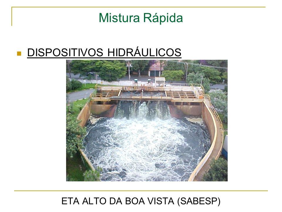 Mistura Rápida ETA ALTO DA BOA VISTA (SABESP) DISPOSITIVOS HIDRÁULICOS