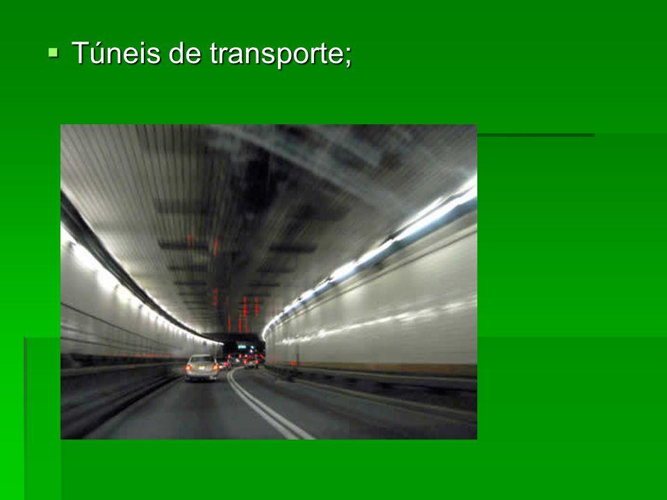 Túneis de transporte; Túneis de transporte;