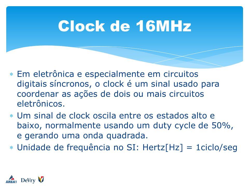 Em eletrônica e especialmente em circuitos digitais síncronos, o clock é um sinal usado para coordenar as ações de dois ou mais circuitos eletrônicos.