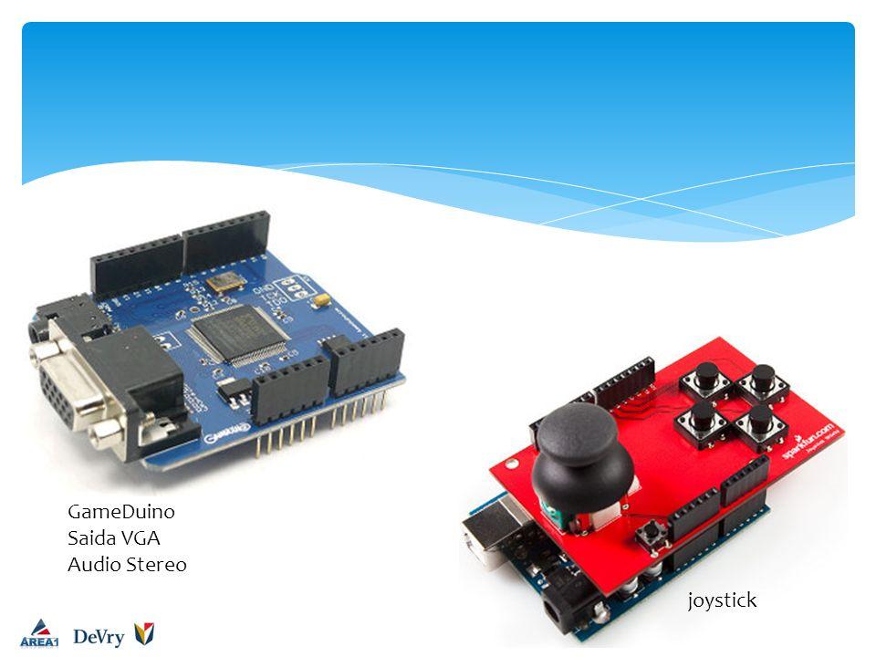 GameDuino Saida VGA Audio Stereo joystick