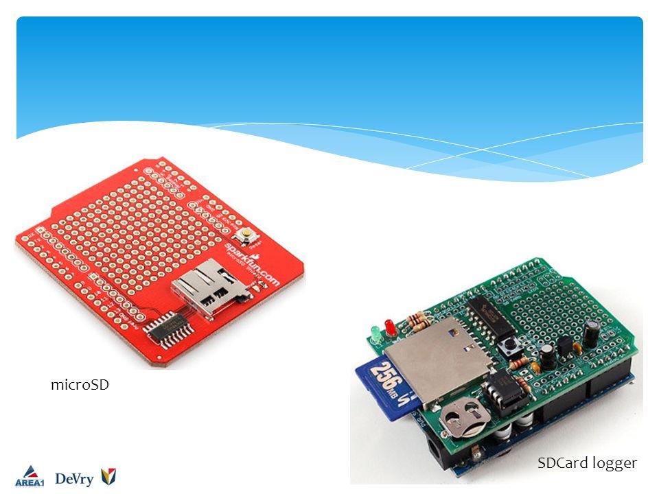 microSD SDCard logger