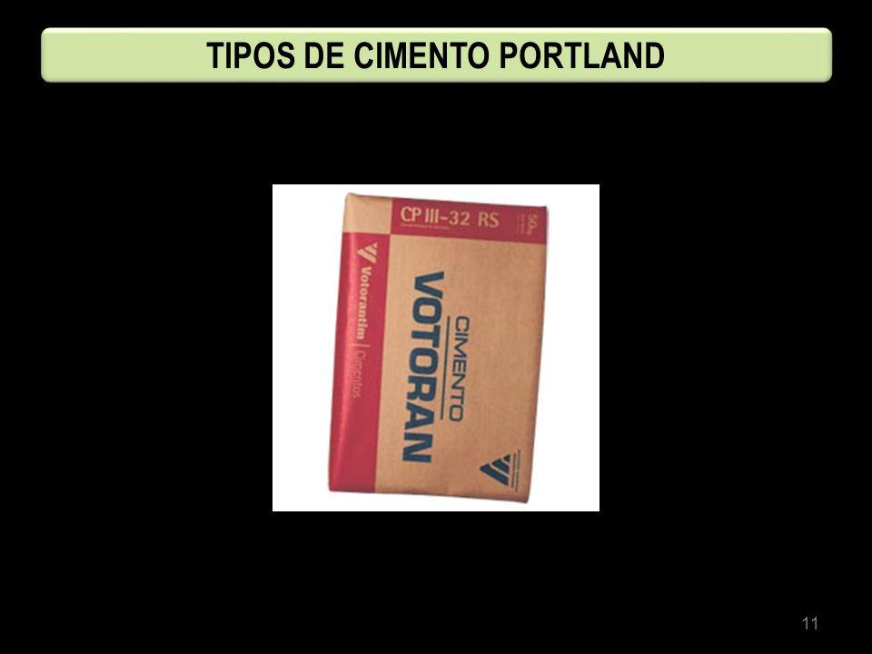11 TIPOS DE CIMENTO PORTLAND