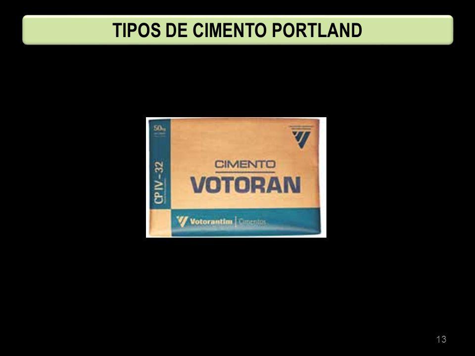 13 TIPOS DE CIMENTO PORTLAND