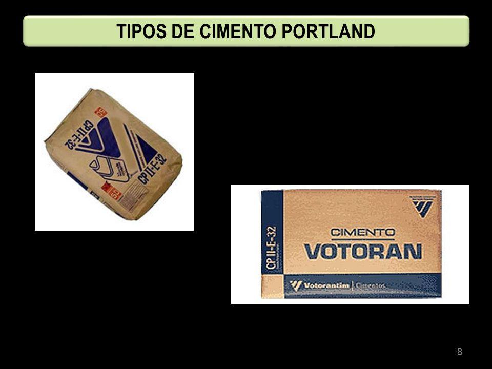 8 TIPOS DE CIMENTO PORTLAND