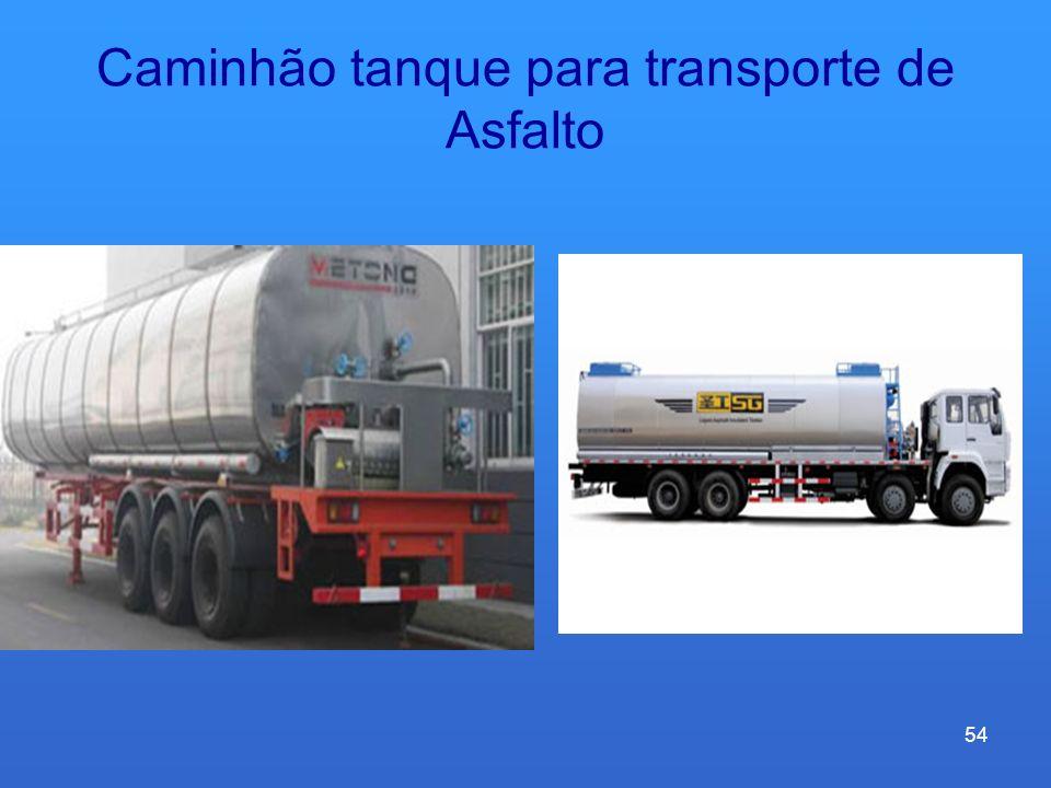 Caminhão tanque para transporte de Asfalto 54