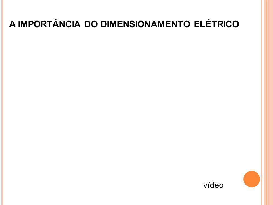 A IMPORTÂNCIA DO DIMENSIONAMENTO ELÉTRICO vídeo