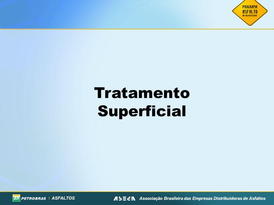 ASFALTOS Associação Brasileira das Empresas Distribuidoras de Asfaltos Tratamento Superficial