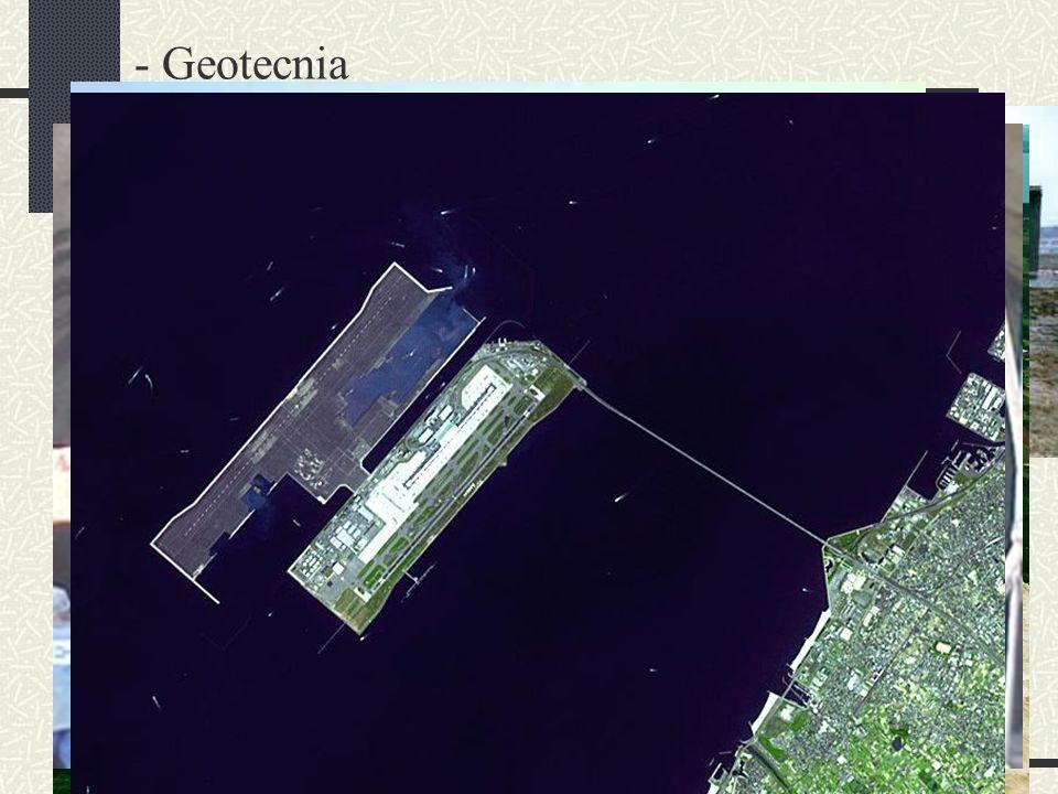 - Controle de laboratório - Geotecnia - Fundações - Barragens - Aterros sobre solos moles - Túneis - Estruturas de Contenção - Rebaixamento de lençol