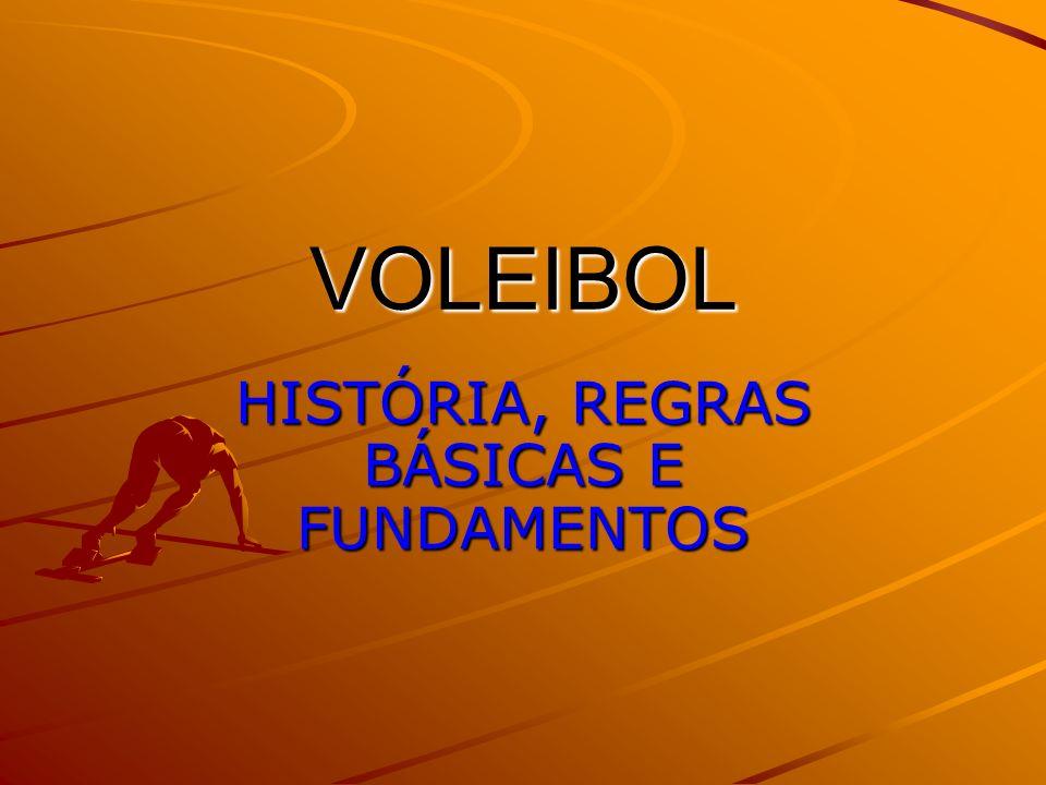 VOLEIBOL HISTÓRIA, REGRAS BÁSICAS E FUNDAMENTOS