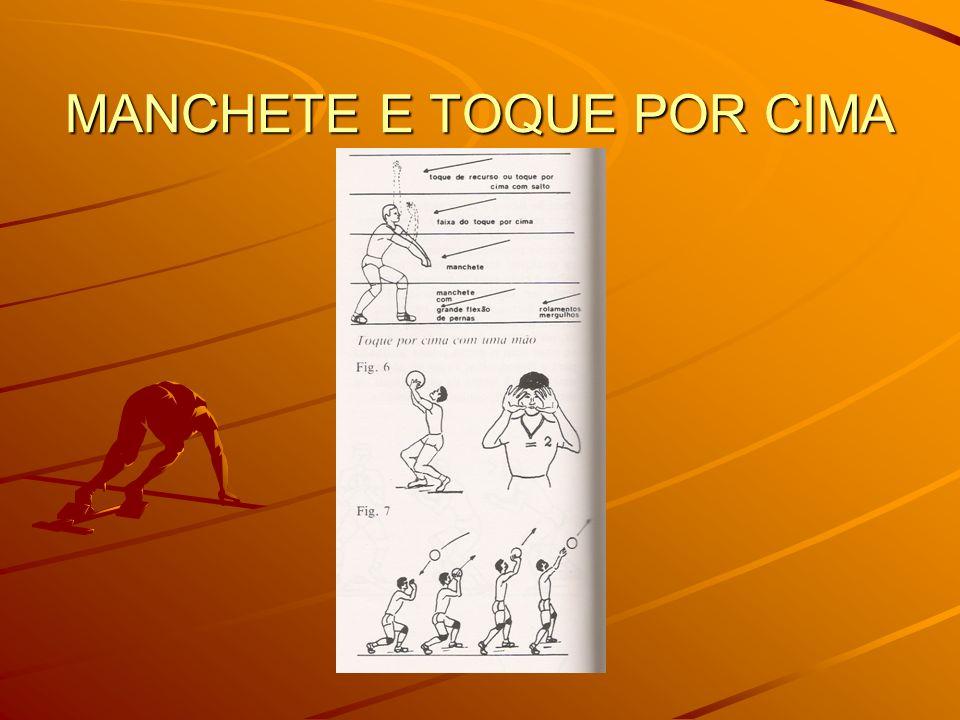 MANCHETE E TOQUE POR CIMA