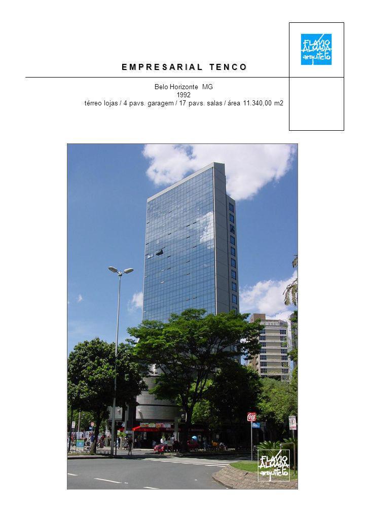 E M P R E S A R I A L T E N C O Belo Horizonte MG 1992 térreo lojas / 4 pavs.
