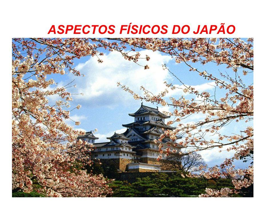ASPECTOS FÍSICOS DO JAPÃO